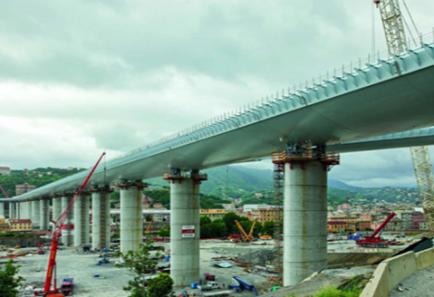 Le nouveau pont San Giorgio