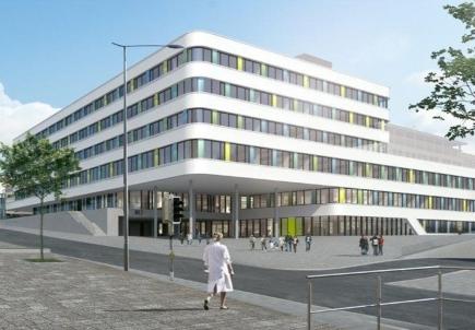 Photo © GMP+ Ferrari - Le nouvel hôpital des enfants (horizon 2024)